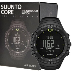 Suunto Core All Black Outdoor Watch with Altimeter Baromete Compass 01